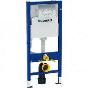 Geberit Delta 21 112cm Concealed Cistern & Dual Flush Plate – 458.118.21.1